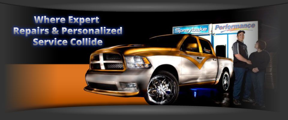 Auto Body Shop | City Skyline