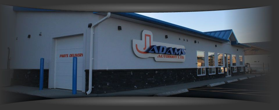 J Adams Autobody Ltd shop